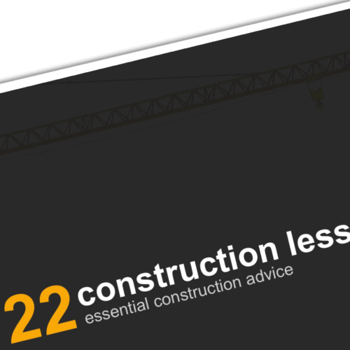 22 Construction Tips Ebook