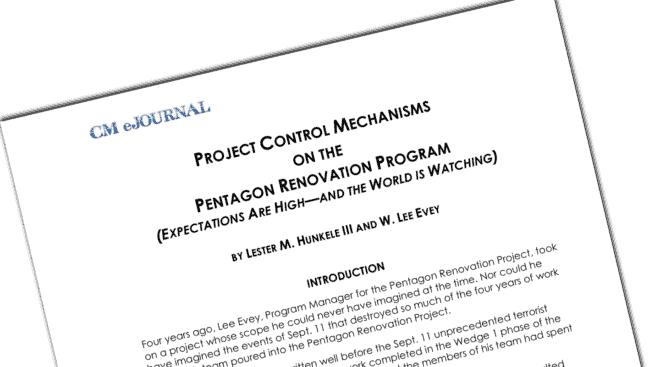 pentagon project controls