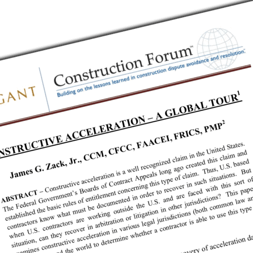 Construction Acceleration Whitepaper