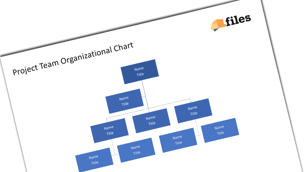 Construction project org chart