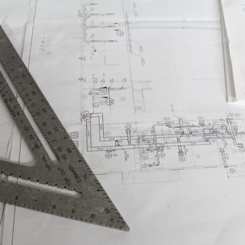 Blueprint with tsquare