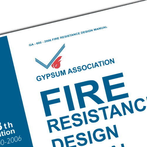Gypsum association fire resistance design