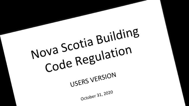 Nova Scotia Building Code