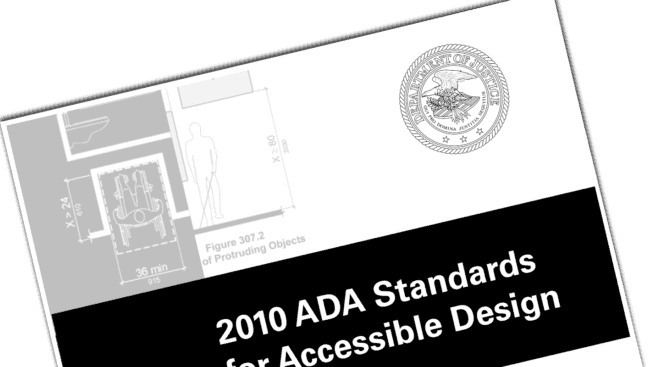 ADA Standard 2010