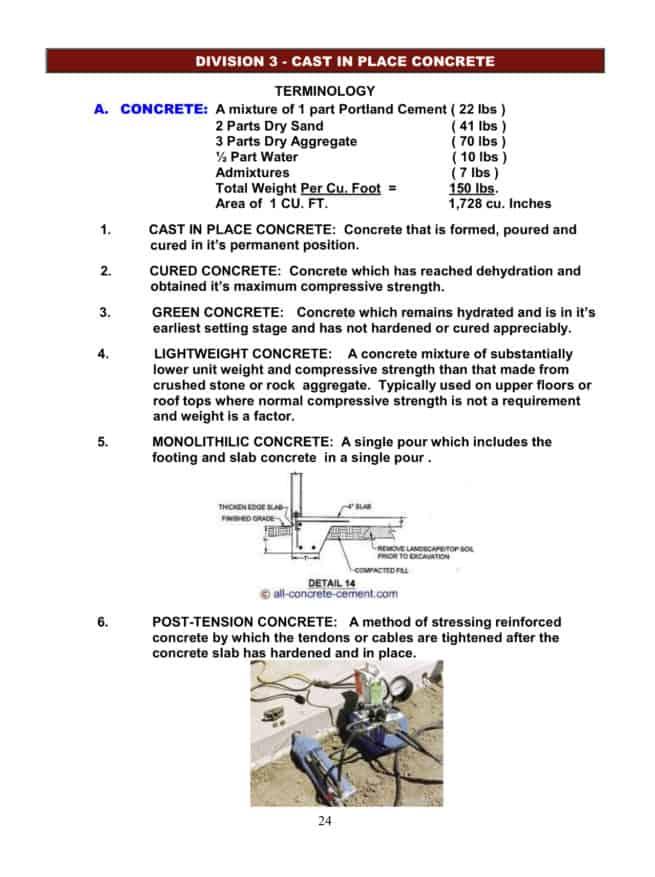 Concrete terminology whitepaper