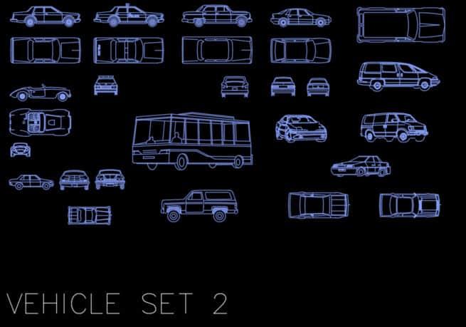 Standard vehicle set 2