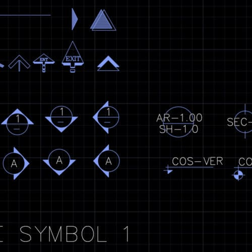 Drawing symbols 1
