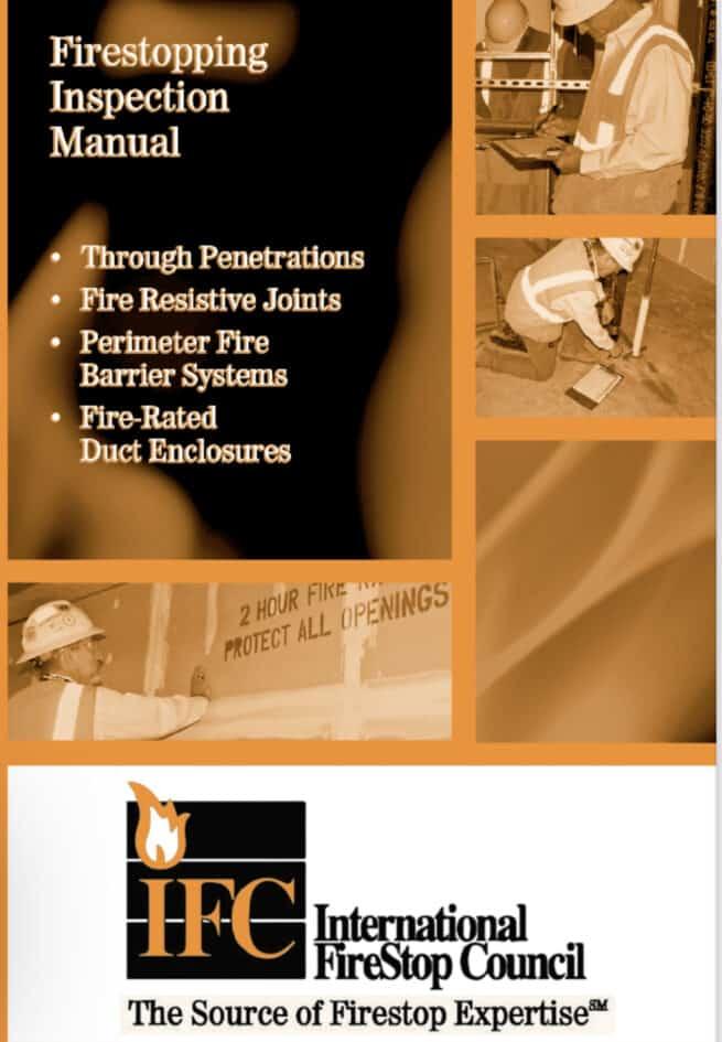 Firestopping inspection handbook